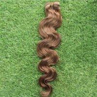 tipos de ondas de pelo al por mayor-Nuevo tipo Monglia Body Wave Hair Weaving 100% paquetes de cabello humano 10-30 pulgadas Virgin Hair Weaving 6a sin procesar doble trama