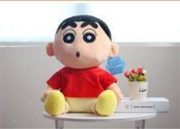 Wholesale plush crayons online - 20170618 Hot Sales Cute Plush Stuffed Crayon Shin chan Cloth New Years Toys Chidrens Day Birthdays Doll