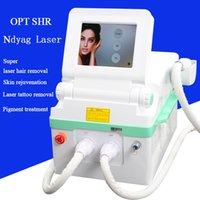 ingrosso ipl diodo-depilazione ipl opt shr depilazione laser a diodi IPL depilazione vascolare tatuaggio macchina laser yag
