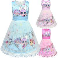 ccfdaf2143c 2019 Muñecas designe para bebés Vestidos de verano Niña linda tutu falda  niña princesa de alta calidad falda gasa Vestido de los niños vestido de  fiesta