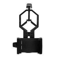 alcance de la pc al por mayor-1 PC Adaptador universal para teléfono inteligente Montaje para telescopio telescopio microscopio binocular monocular