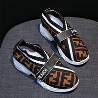 designer-müßiggänger schuhe großhandel-FF Letters Frauen Socken Sneakers Designer Schuhe Speed Trainer Fends Marke Breathable Loafers Erhöht in Knit Casual Sock Schuhe B81405