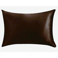 Wholesale envelope pillowcase for sale - Group buy 20 inch Silk Satin Pillowcase Home Multicolor Ice Silk Pillow Case Zipper Pillow Cover Double Face Envelope Bedding Pillow Cover VT0821