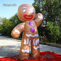 Wholesale tales figure for sale - Group buy Customized Inflatable Cartoon Character Gingerbread Man Model m Height Fairy Tale Figure For Christmas Decoration And Advertising Show