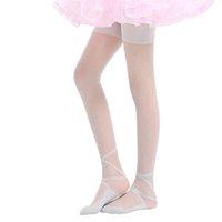 Wholesale silk stockings pantyhose resale online - Hot Kids Girls Stockings Ballet Dance Stocking Baby Girl Tights Silk Cute Dot Print Children Girls Tights Pantyhose