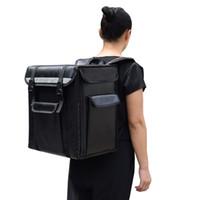 boîte à dos d'emballage achat en gros de-Professionnel 21L à emporter sac à dos type isolation livraison paquet à emporter pizza sac alimentaire boîte réfrigérée valise étanche Bagage