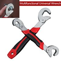 Wholesale bolt and nut for sale - Group buy Hand tools Multi Function Universal Wrench Set Snap and Grip Adjustable Wrench Set MM For Nuts and Bolts of Sizes