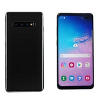 4.7 zoll smartphone 3g großhandel-6,5-Zoll-Vollbild-Goophone S10 PLUS Hinweis 9 Fingerabdruck Quad Core 1 GB + 16 GB S9 + Handy anzeigen 4G LTE 8 GB + 512 GB Android 7.0-Handy versiegelt Box