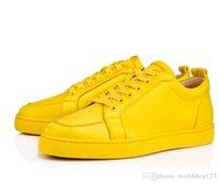 ingrosso articoli di marca-2019 di modo delle donne di trasporto di marca Red Sole Rantulow uomini scarpe inferiori rossi delle scarpe da tennis Rantulow Orlato Mens piatto Outdoor Nuovi Items