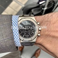 Wholesale watching sport for sale - Group buy Top Men s Watch Gold Stanless Steel mm High Quality VK Chronograph Quartz Movement Sports Men Watches montre de luxe orologio di lusso