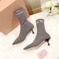 botas tacones vestido al por mayor-Diseñador de la marca Mujer Zapatos Diseñador de la mujer Tacones zapatos Superstar Tacones Botas Mujer Diseñador de los zapatos Vestido de las señoras Zapato