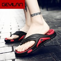 Wholesale massage flip flops slippers for sale - Group buy Coslony Soft Men Slippers Shoes Big Size Massage Summer Water Male Sandals High Quality Flat Beach Shoes Non slip Mens Flip Flop