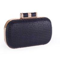 Wholesale western style clutches for sale - Group buy factory sales New brand The handbag of western style fashion Pu hand bag dinner simple fashion handbags handmade exquisite Chain Handbag