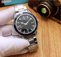 relógios mens mecânica venda por atacado-Orologio di lusso glide fecho cinta mens novo relógio mecânico automático verde relógios orologio automático relógio de pulso orologi da uomo