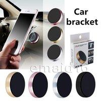 magnethalter für handy großhandel-Magnetischer Autotelefonhalter für iPhone XS X Samsung magnetischer Autohalter für Handy im Auto Handyhalter Ständer