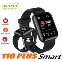 Wholesale remote watch new online – 2019 New Plus Smart watch Bracelet Fitness Tracker Heart Rate Step Counter Activity Monitor Wristband PK PLUS for iphone Android