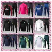 Wholesale Best Quality NEW soccer jerseys PGS Real Madrid Palmeiras Internazionale Marseille Roma Feyenoord training suit football shirt