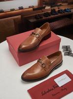 Wholesale sparkling chain resale online - 2019 Men Personality Sparkling Rhinestone Leather Shoes Banquet Party Plus Size Shoes Loafers Luxury Men s Business Dress Shoes