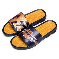 sandales sport étoiles achat en gros de-Sports star pantoufles d'impression de haute qualité marque hommes d'été en caoutchouc sandales plage Slide mode érailles pantoufles chaussures d'intérieur