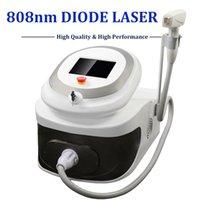 ingrosso rimuovono le macchine laser-2019 Portable diodo Laser Hair Removal macchina 808nm Ice Point Soprano Lazer Diode rimuovere i peli in modo permanente painfree