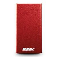 sabit disk flaşı toptan satış-KingSpec Harici sabit disk SSD hd externo 1 t usb 3.1 taşınabilir SSD 256B 240 GB pendrive USB flash kalem sabit disk