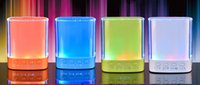 Wholesale mobile shine for sale – best Colorful LED Mini Speaker Bluetooth Wireless Portable Loudspeaker Shine Light Speakers B9 Stereo Hifi Soundbox