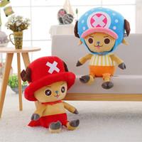 BABIQU 1pc 30cm Tony Chopper Plush Toy Movie Figure Soft Stuffed High Quality Game Cute Kawaii Lovely Gift For Children KidsMX190926