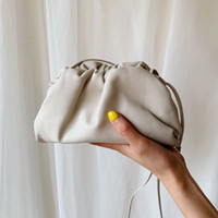 köfte omuz torbaları toptan satış-Kılıfı Deri Zarf Çanta Lüks Omuz Çantaları Kadınlar Tasarımcı Voluminous Yuvarlak Çantalar ve Çanta Dumpling Kavramalar