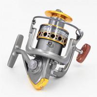 nuevos carretes al por mayor-Envío gratis Nueva tecnología Trolling Carretes de pesca Carrete giratorio Baitcasting Carrete de la bobina para ruedas de pesca Barco alimentador de la carpa