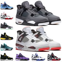 Wholesale cool man shoes for sale - Group buy 2019 s Men Basketball shoes Thunder Pure Money Bred Athletic Cool Grey Flight Nostalgia Military Blue Designer Trainers Sport Sneakers