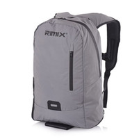 Wholesale shell computers for sale - RIMIX Reflective Soft Shell Travel Backpack Lightweight Water Resistant For Durable Hiking Camping Outdoors Computer Bag