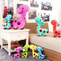 Wholesale real soft toys for sale - Group buy Real Life Giraffe Plush Toys Cute Stuffed Animal Dolls Soft Simulation Giraffe Doll High Quality Birthday Gift Kids Toy