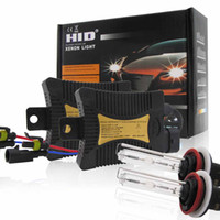 Wholesale h11 hid auto bulbs for sale - Group buy 2pcs H8 H9 H11 Xenon HID Headlight Light Bulbs With Ballasts K K K K Conversion Kit Car Auto W Xenon Light