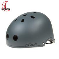 Wholesale moon bicycle resale online - MOON NEW Outdoor Sports Bicycle Helmet Skateboard Helmet Skating Safety Bike Mountain Road Bike Integrally Molded