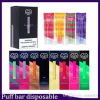 cosse achat en gros de-Puff Bar récent dispositif à usage unique videz Pod Starter Kit batterie 280mAh Vape Pen vs eon chic VGöD Stig MR brouillard jetable