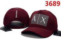 verstellbares riemen-hysteresen großhandel-Neue seltene Mode AX Hüte Marke Hunderte Tha Alumni Strap Back Cap Männer Frauen Knochen Snapback Einstellbare Panel Casquette Golf Sport Baseball Cap