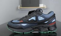 Wholesale raf simons sneakers for sale - 2019 new mens Raf Simons x Consortium Ozweego Bunny Cream Bunny Black Night Marine Casual Running Shoes Discount Cheap Trainers Sneakers