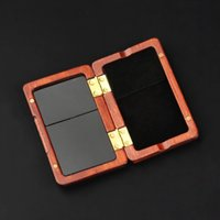 Wholesale reeds for clarinet resale online - Solid Wood Reed Case Wooden Holder Box for Tr Alto Soprano Saxophone Clarinet Reeds Capacity