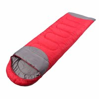 Wholesale free single beds for sale - Group buy Sleeping Bag Outdoor Camping Hiking Travel Waterproof Single Thick Carry Bed