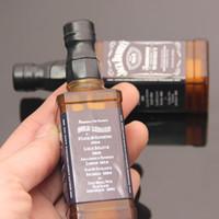 neuheit flaschen wein großhandel-Neue Ankunfts-rauchende Zigaretten-Zusatzgasfeuerzeuge Rotweinflaschenform-Neuheitsfeuerzeug
