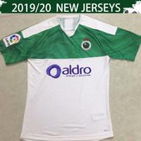 yarış üniformaları toptan satış-2020 Real Racing Club de Santander Futbol Jersey 19 20 Santander Beyaz Futbol Gömlek 2019 15. Marong # 30 Zidane Futbol Üniformalar