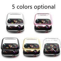 High Quality PC Cover Case for Apple Iwatch 1 2 3 4 5 series 38mm 42mm 40MM 44MM Five Colors Optional