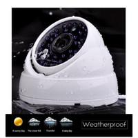 h 264 dvr cctv systems al por mayor-Al por mayor de las cámaras de seguridad Sistemas de 4CH H.264 1080P Lite + DVR preinstalado y alertas por correo electrónico a la intemperie 1080P CCTV Cámaras Domo