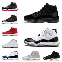 Wholesale New Arrival Concord High XI s Cap and Gown PRM Heiress Gym Red Platinum Tint Men Shoes Motorcycle Boots sports Sneakers