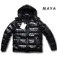 men s casual jacket designs groihandel-Hohe Qualität Männer Casual Daunenjacke MAYA Daunenjacke Herren Outdoor-Warm-Feder-Kleid Mann Wintermantel outwear Jacken Parkas