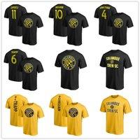 jersey de zardes venda por atacado-MLS camisa de futebol # 10 Higuain Columbus # 11 Zardes Tripulação SC # 6 Trapp # 4 Mensah mens designer de T-shirt de futebol Fãs Tops Tees logotipos impressos