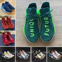 ingrosso scarpe da corsa unici-Mens gara unica Future HU NMD umani Running Shoes Pharrell Williams Amore altri sogni Vision guardare dentro mente cuore Sport Sneakers 36-45
