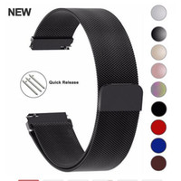 Wholesale milanese loop for gear for sale - Group buy 20mm mm Milanese Loop Strap For Samsung Gear S3 Galaxy Watch MM MM Active Band mm Stainless Steel Bands for Gear S2 Amazfit