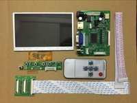 Wholesale vga lcd panel for sale - Group buy 5 inch TFT LCD screen Monitor Driver Board KD50G23 NB A1 Car Portable display panel HDMI VGA AV for Raspberry Pi