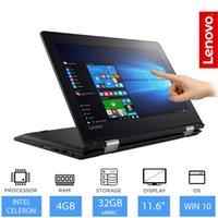 janelas ram venda por atacado-LENOVO YOGA 2 EM 1 LAPTOP / TABLET TOUCHSCREEN 128GB SSD, 4GB RAM